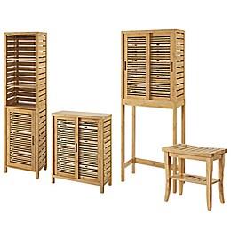 Linon Home Bracken Bamboo Collection