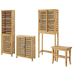 Linon Home Bracken Bamboo Collection
