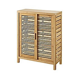 Linon Home Bracken Bamboo 2-Door Cabinet