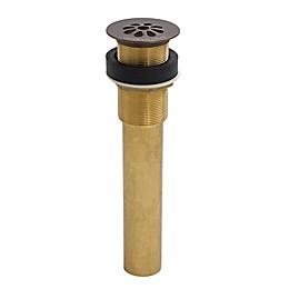 Sinkology TG01-AG Bath Sink Grid Drain in Brass without Overflow