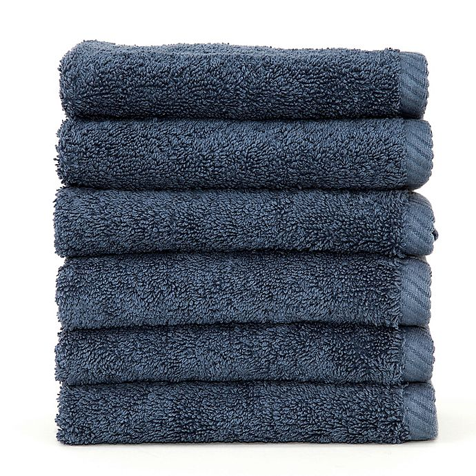 Alternate image 1 for Linum Home Textiles Soft Twist Washcloths (Set of 6)