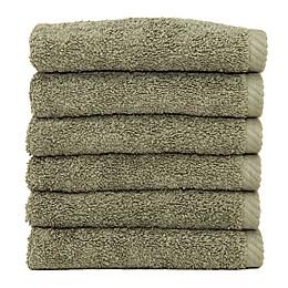 Linum Home Textiles Soft Twist Washcloths (Set of 6)