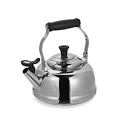 Le Creuset® 1.8-Quart Stainless Steel Whistling Tea Kettle