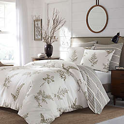 Stone Cottage Willow Reversible King Comforter Set in Driftwood