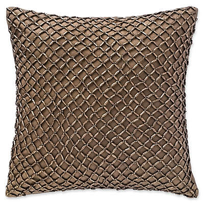 Waterford® Alisanne Beaded Square Throw Pillow