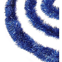 Northlight 50-Foot Classic Christmas Garland in Blue