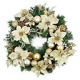 Northlight 24-Inch Pine Artificial Wreath