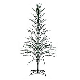 Northlight 4-Foot Pre-Lit Outdoor Artificial Christmas Tree Decoration