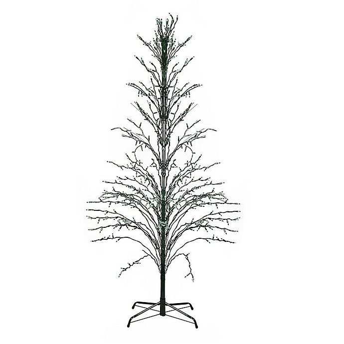 Pre Lit Christmas Tree Fuses: Northlight 4-Foot Pre-Lit Outdoor Artificial Christmas