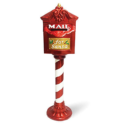 "National Tree Company® 36-Inch ""Mail for Santa"" Mailbox in Red"