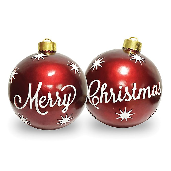 National Tree Company® 26-Inch Merry Christmas Ornaments ...