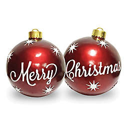National Tree Company® 26-Inch Merry Christmas Ornaments (Set of 2)