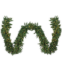 Northlight 25-Foot x 20-Inch Pre-Lit LED Garland in Green