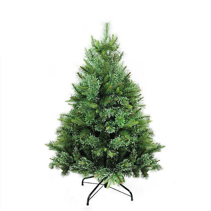 Northlight 4.5-Foot Full Artificial Christmas Tree | Bed ...