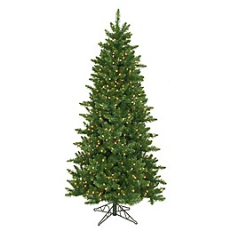 Northlight 12-Foot Eastern Traditional Pre-Lit Artificial Christmas Tree with Clear Lights