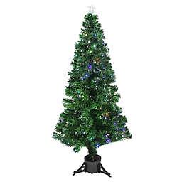 6-Foot Fiberoptic Christmas Tree with Color LED Micro Lights