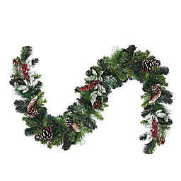 Northlight 6-Foot Frosted Christmas Garland