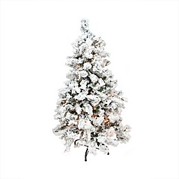 6-Foot 5-Inch Pre-Lit Christmas Tree in with Clear Lights