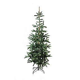 Northlight 6.5-Foot Pre-Lit Artificial Christmas Tree in Green with Clear Lights