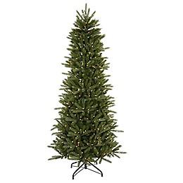 Vickerman 6-1/2-Foot Pre-Lit Slim Vermont Fir Artificial Christmas Tree