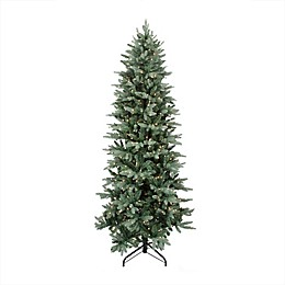 Northlight 6.5-Foot Pre-Lit Washington Traditional Christmas Tree in Green with Clear Lights