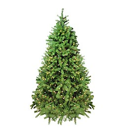 Northlight 6.5-Foot Noble Fir Pre-Lit Artificial Christmas Tree with Clear Lights