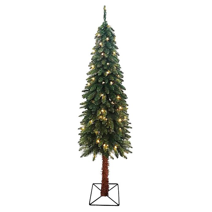 Northlight 7-Foot Pre-Lit Two-Tone Artificial Christmas ...