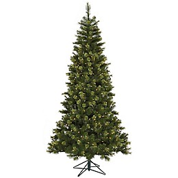 Vickerman 7.5-Foot Jack Pine Pre-Lit Artificial Christmas Tree with Clear LED Lights