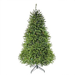 Northlight 7.5-Foot Pre-Lit Northern Pine Full Christmas Tree in Green with Multi-Color Lights