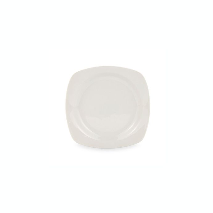 Alternate image 1 for Oneida® Chef's Table™ Porcelain 8-Inch Square Salad Plates in White (Set of 4)