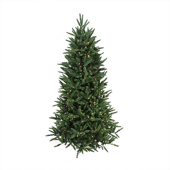 Northlight 7 5 Foot Pre Lit Artificial Christmas Tree With Multi