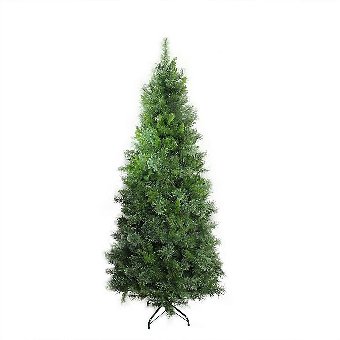 Alternate image 1 for Northlight 7.5-Foot Atlanta Mixed Artificial Christmas Tree in Green