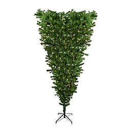 Northlight 7.5-Foot Upside Down Pre-Lit Artificial Christmas Tree