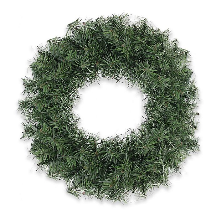 Alternate image 1 for Northlight 12-Inch Mini Canadian Pine Wreath