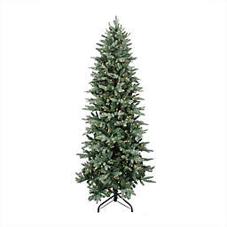 Northlight 9-Foot Pre-Lit Washington Frasier Fir Artificial Christmas Tree with Clear Lights