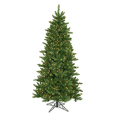 Northlight 10-Foot Pre-Lit Slim Eastern Pine Artificial Christmas Tree with Clear Lights