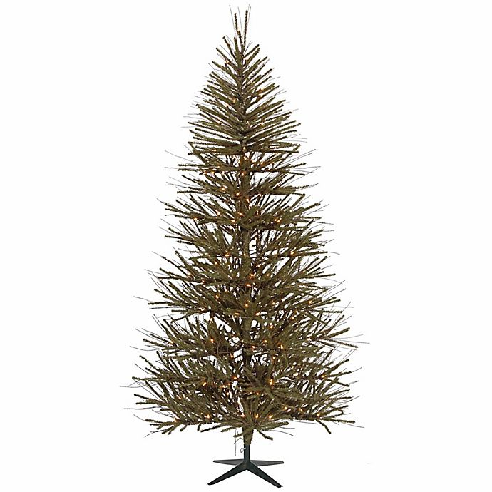 Alternate image 1 for Vickerman 10-Foot Pre-Lit Artificial Christmas Tree with Clear Mini Lights