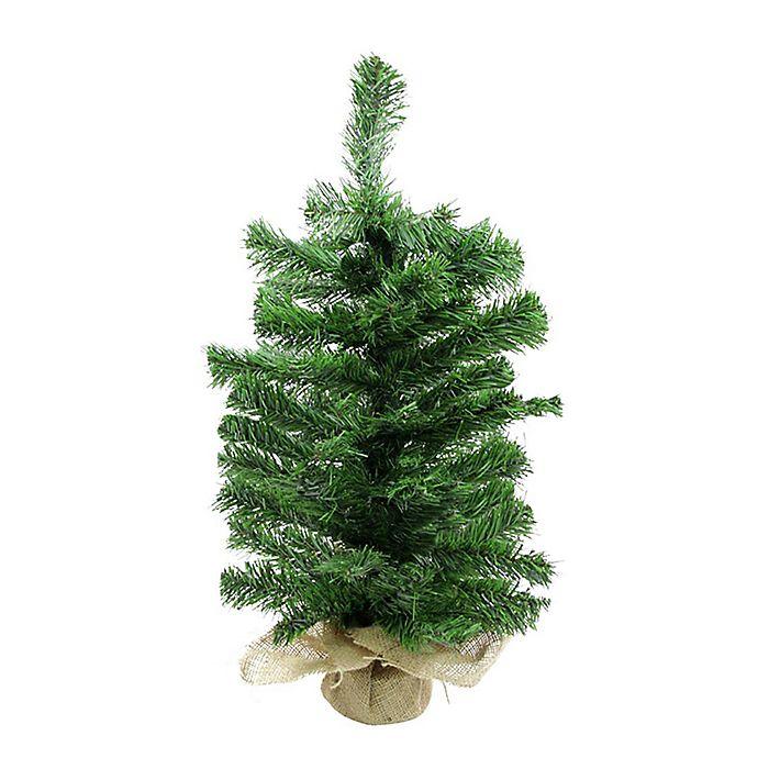 24 inch balsam fir potted artificial christmas tree - Potted Artificial Christmas Trees