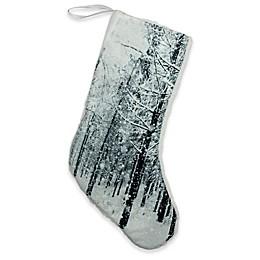 Northlight Winter's Beauty Winter Scene Christmas Stocking