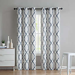 VCNY Home Caldwell 2-Pack 96-Inch Grommet Window Curtain Panels in Indigo