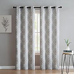VCNY Home Winstead Grommet Top Window Curtain Panel Pair