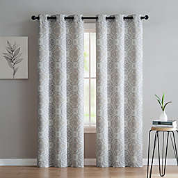 VCNY Home Winstead Grommet Top Window Curtain Panel Pair
