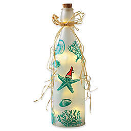 Home Essentials and Beyond Decorative LED Holiday Starfish Bottle
