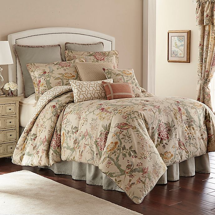 Alternate image 1 for Rose Tree Biccari Reversible Queen Comforter Set