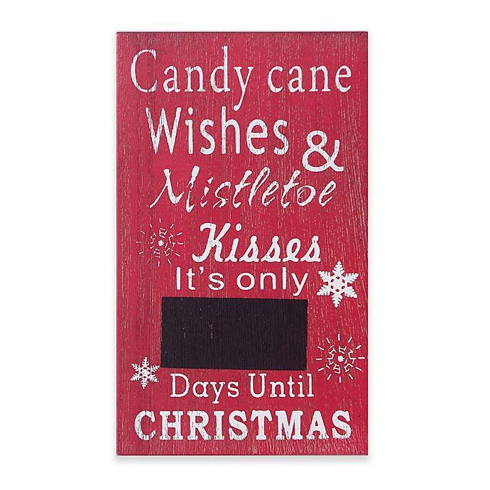 Days Till Christmas Chalkboard.Winter Wonderland Days Until Christmas Chalkboard