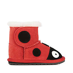 EMU Australia Wool Ladybug Bootie in Red