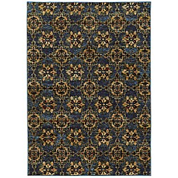 Oriental Weavers Andorra Floral Rug in Blue