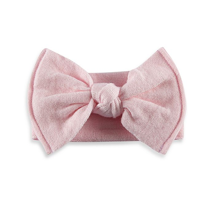 Alternate image 1 for NYGB Bow Headband in Pink