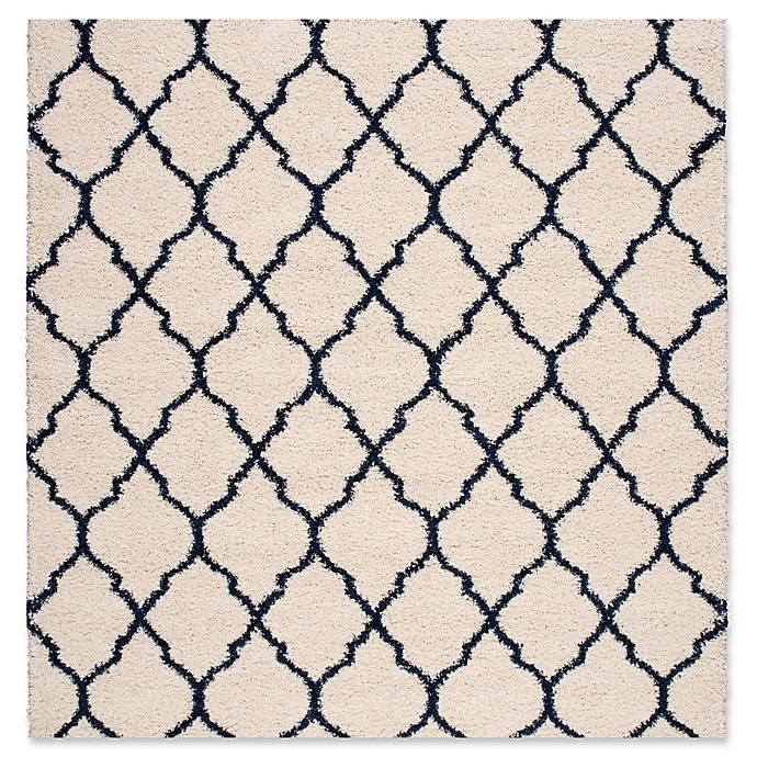 Alternate image 1 for Nourison Amore Amor2 6-Foot 7-Inch x 6-Foot 7-Inch Area Rug in Ivory/Blue