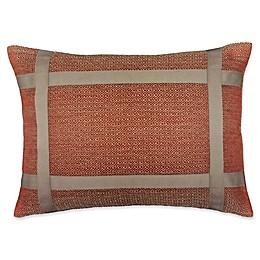 Rose Tree Biccari Diamond-Woven Boudoir Pillow